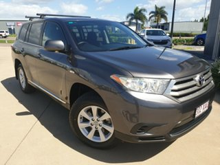 2012 Toyota Kluger GSU40R MY12 KX-R 2WD Grey 5 Speed Sports Automatic Wagon.