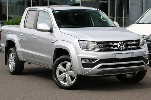 Demo Volkswagen Amarok 2H MY18 TDI550 4MOTION Perm Sportline, 2018 Volkswagen Amarok 2H MY18 TDI550 4MOTION Perm Sportline Silver 8 Speed Automatic Utility