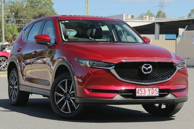 Used Mazda CX-5 KF4WLA GT SKYACTIV-Drive i-ACTIV AWD, 2018 Mazda CX-5 KF4WLA GT SKYACTIV-Drive i-ACTIV AWD Soul Red Crystal 6 Speed Sports Automatic Wagon