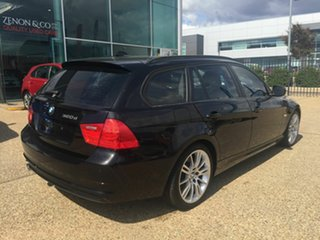 2012 BMW 320d E91 MY11 Lifestyle Touring Steptronic Black 6 Speed Sports Automatic Wagon