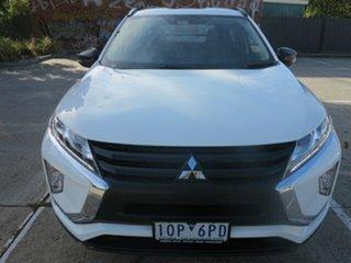 2018 Mitsubishi Eclipse Cross YA LS (2WD) White Continuous Variable Wagon.