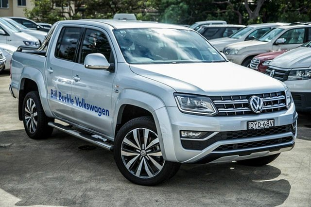 Demo Volkswagen Amarok 2H MY18 TDI580 4MOTION Perm Ultimate, 2018 Volkswagen Amarok 2H MY18 TDI580 4MOTION Perm Ultimate Reflex Silver 8 Speed Automatic Utility