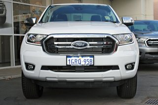 2018 Ford Ranger PX MKIII 2019.0 XLT Pick-up Double Cab Frozen White 6 Speed Sports Automatic.