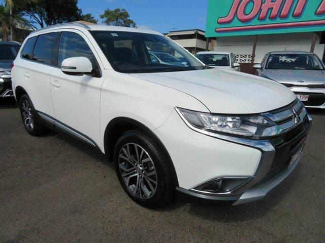Used Mitsubishi Outlander ZL MY18.5 LS AWD, 2018 Mitsubishi Outlander ZL MY18.5 LS AWD White 6 Speed Constant Variable Wagon