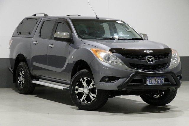 Used Mazda BT-50 MY13 XTR (4x4), 2013 Mazda BT-50 MY13 XTR (4x4) Grey 6 Speed Automatic Dual Cab Utility