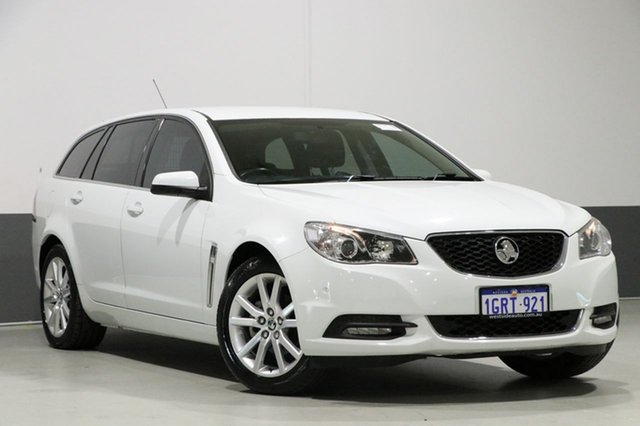 Used Holden Commodore VF MY14 International, 2013 Holden Commodore VF MY14 International White 6 Speed Automatic Sportswagon