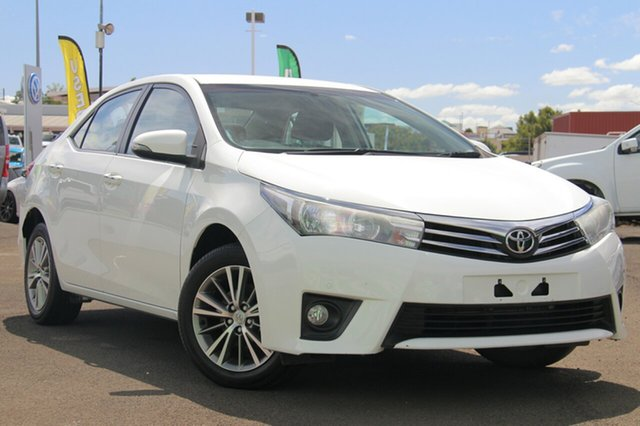 Used Toyota Corolla ZRE172R SX S-CVT, 2016 Toyota Corolla ZRE172R SX S-CVT White 7 Speed Constant Variable Sedan