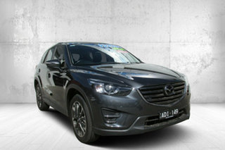 2015 Mazda CX-5 KE1032 Akera SKYACTIV-Drive AWD Meteor Gre 6 Speed Sports Automatic Wagon.