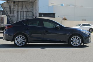 2014 Mazda 3 BM5238 SP25 SKYACTIV-Drive GT Deep Crystal Blue 6 Speed Sports Automatic Sedan.
