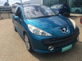 2007 Peugeot 207 A7 GT Blue 5 Speed Manual Hatchback