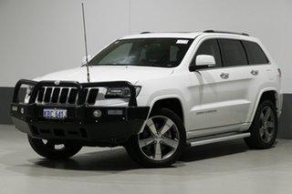 2014 Jeep Grand Cherokee WK MY14 Overland (4x4) White 8 Speed Automatic Wagon.