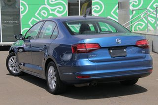 2016 Volkswagen Jetta 1B MY16 118TSI DSG Trendline Blue 7 Speed Sports Automatic Dual Clutch Sedan.