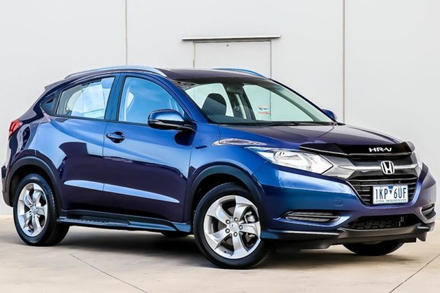 Used Honda HR-V MY17 Limited Edition, 2017 Honda HR-V MY17 Limited Edition Morpho Blue 1 Speed Constant Variable Hatchback