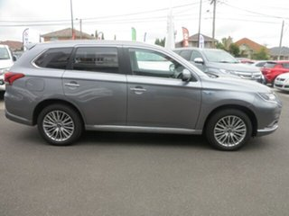 2018 Mitsubishi Outlander ZL MY19 Exceed (Hybrid) White 1 Speed Automatic Wagon