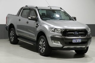 2016 Ford Ranger PX MkII MY17 Wildtrak 3.2 (4x4) Silver 6 Speed Manual Dual Cab Pick-up