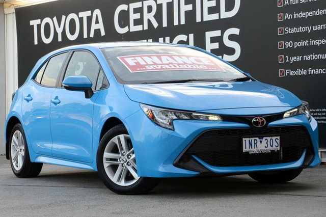 Used Toyota Corolla Mzea12R Ascent Sport, 2018 Toyota Corolla Mzea12R Ascent Sport Eclectic Blue 10 Speed Constant Variable Hatchback