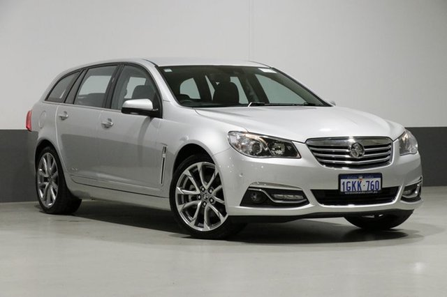 Used Holden Calais VF II V, 2017 Holden Calais VF II V Silver 6 Speed Automatic Sportswagon