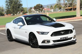 2016 Ford Mustang FM GT Fastback White 6 Speed Manual Fastback.