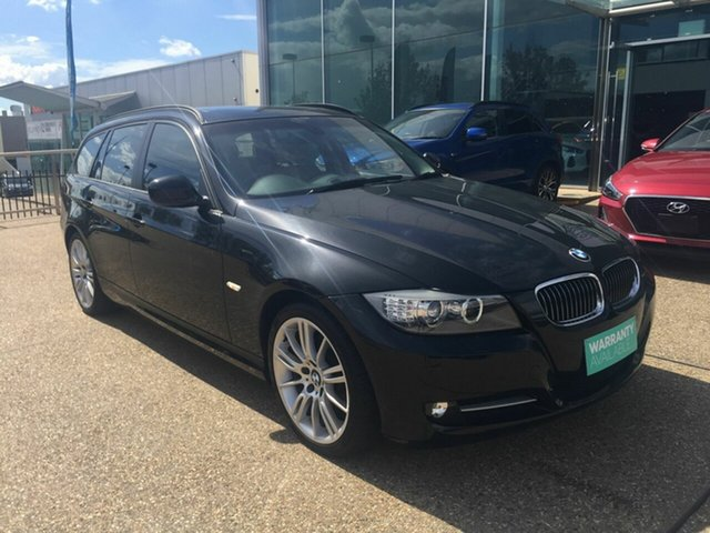 Used BMW 320d E91 MY11 Lifestyle Touring Steptronic, 2012 BMW 320d E91 MY11 Lifestyle Touring Steptronic Black 6 Speed Sports Automatic Wagon