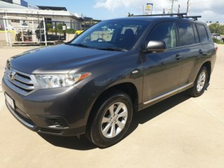 2012 Toyota Kluger GSU40R MY12 KX-R 2WD Grey 5 Speed Sports Automatic Wagon