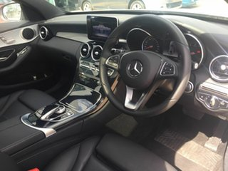 2018 Mercedes-Benz C-Class W205 808MY C200 9G-TRONIC Silver 9 Speed Sports Automatic Sedan
