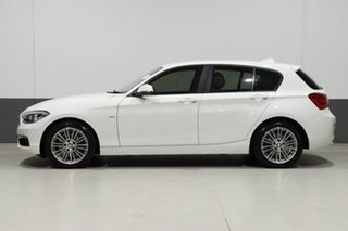 2017 BMW 120i F20 LCI MY17 Urban Line White 8 Speed Automatic Hatchback