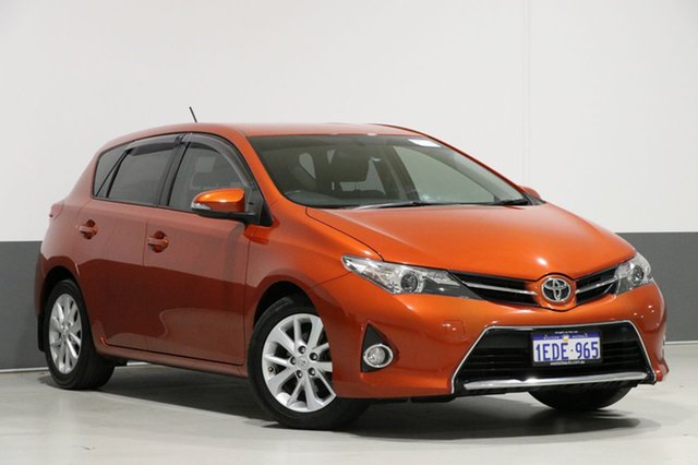 Used Toyota Corolla ZRE182R Ascent Sport, 2013 Toyota Corolla ZRE182R Ascent Sport Orange 7 Speed CVT Auto Sequential Hatchback