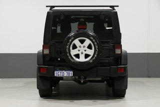 2013 Jeep Wrangler Unlimited JK MY13 Sport (4x4) Black 5 Speed Automatic Softtop