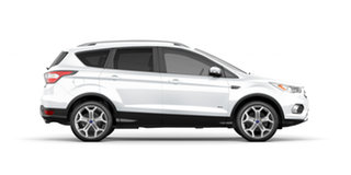 2018 Ford Escape ZG 2018.00MY Titanium AWD White 6 Speed Sports Automatic Wagon.