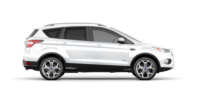 New Ford Escape ZG 2018.75MY Titanium PwrShift AWD, 2018 Ford Escape ZG 2018.75MY Titanium PwrShift AWD Frozen White 6 Speed
