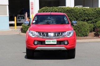 2015 Mitsubishi Triton MQ MY16 GLS Double Cab Red 5 Speed Sports Automatic Utility.