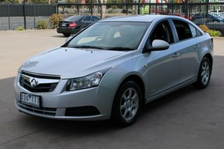 2010 Holden Cruze JG CD Silver 6 Speed Automatic Sedan.