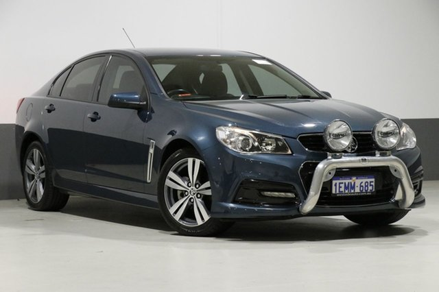 Used Holden Commodore VF SV6, 2013 Holden Commodore VF SV6 Green 6 Speed Automatic Sedan