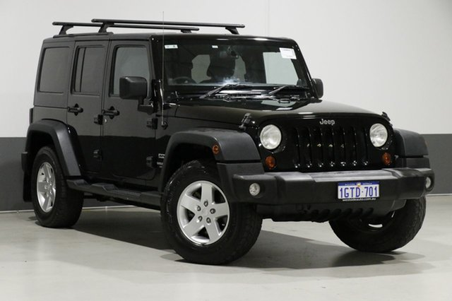 Used Jeep Wrangler Unlimited JK MY13 Sport (4x4), 2013 Jeep Wrangler Unlimited JK MY13 Sport (4x4) Black 5 Speed Automatic Softtop