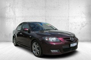 2007 Mazda 3 BK1032 SP23 Purple 5 Speed Sports Automatic Sedan.