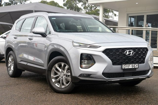 Used Hyundai Santa Fe TM MY19 Active, 2018 Hyundai Santa Fe TM MY19 Active Silver 8 Speed Sports Automatic Wagon