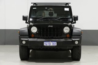2013 Jeep Wrangler Unlimited JK MY13 Sport (4x4) Black 5 Speed Automatic Softtop.