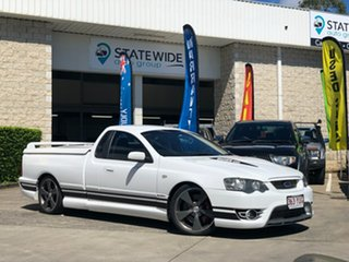 2007 Ford Performance Vehicles Super Pursuit BF Mk II White 6 Speed Sports Automatic Utility