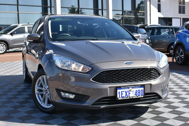 Used Ford Focus LZ Trend, 2015 Ford Focus LZ Trend Brown 6 Speed Automatic Hatchback