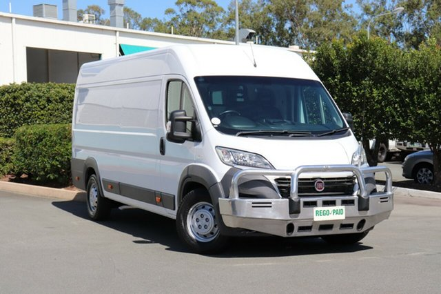 Used Fiat Ducato Series 4 Mid Roof XLWB Comfort-matic, 2015 Fiat Ducato Series 4 Mid Roof XLWB Comfort-matic White 6 Speed Sports Automatic Single Clutch