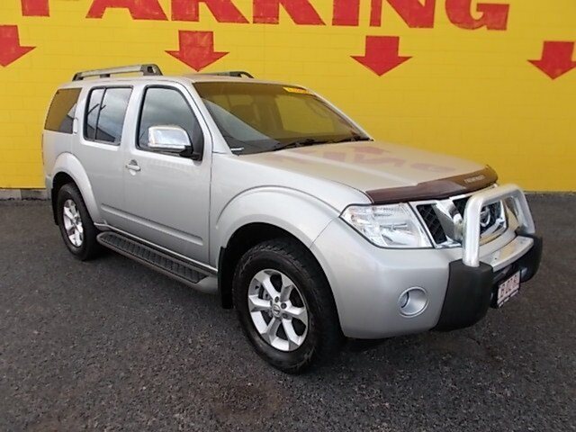 Used Nissan Pathfinder R51 MY10 ST-L, 2013 Nissan Pathfinder R51 MY10 ST-L Silver 5 Speed Sports Automatic Wagon
