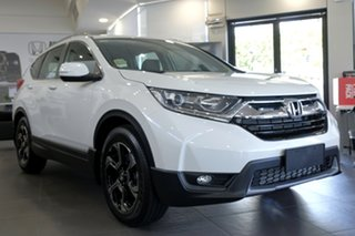 2018 Honda CR-V RW MY19 VTi-E FWD White Orchid 1 Speed Constant Variable Wagon.