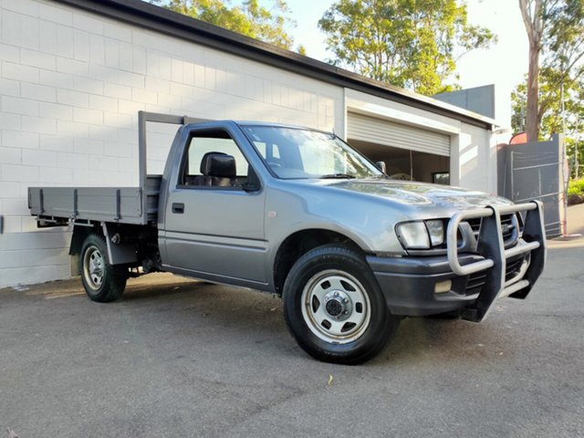 Used Holden Rodeo TF MY01 LX, 2001 Holden Rodeo TF MY01 LX Metallic Silver 5 Speed Manual Cab Chassis