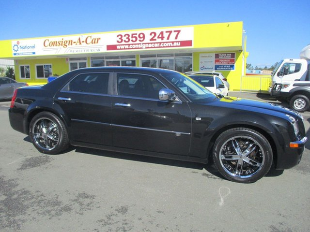 Used Chrysler 300C MY2010 HEMI, 2009 Chrysler 300C MY2010 HEMI Black 5 Speed Sports Automatic Sedan