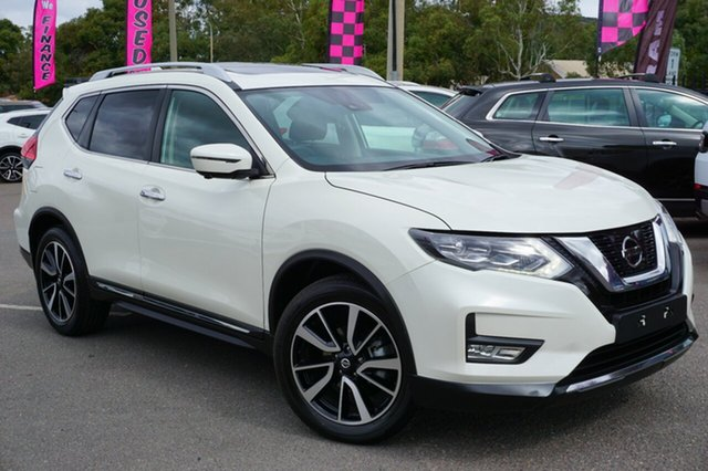 Used Nissan X-Trail T32 Series II Ti X-tronic 4WD, 2018 Nissan X-Trail T32 Series II Ti X-tronic 4WD White 7 Speed Constant Variable Wagon