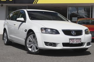 2012 Holden Commodore VE II MY12.5 Z Series Sportwagon White 6 Speed Sports Automatic Wagon.