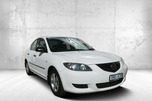Used Mazda 3 BK10F1 Neo, 2004 Mazda 3 BK10F1 Neo White 4 Speed Sports Automatic Sedan