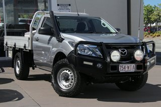 2016 Mazda BT-50 UR0YF1 XT Grey 6 Speed Manual Cab Chassis.