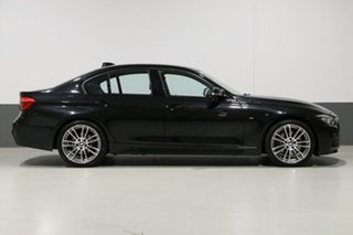 2018 BMW 330i F30 LCI MY18 M Sport Black 8 Speed Automatic Sedan