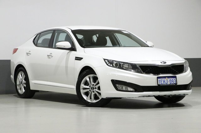 Used Kia Optima TF MY13 SI, 2013 Kia Optima TF MY13 SI White 6 Speed Automatic Sedan